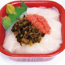 イカ高菜明太丼