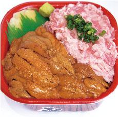 ウニネギトロ丼