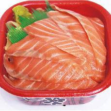 サーモン丼