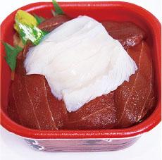 ヅケマグロイカ丼