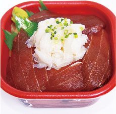 ヅケマグロエンガワ丼