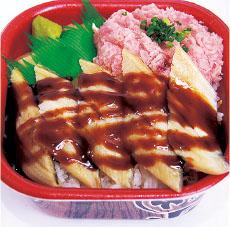 穴子ネギトロ丼