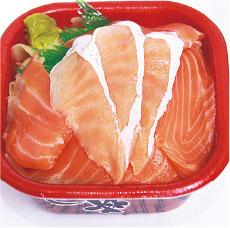 2種サーモン丼